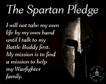 spartan pledge